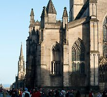 St Giles Cathedral, Edinburgh by photoeverywhere