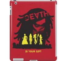 Death Is Your Gift iPad Case/Skin