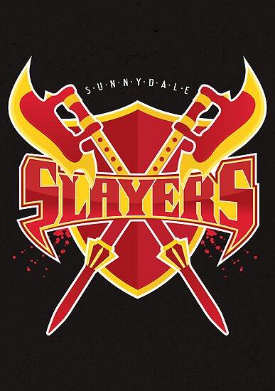 Sunnydale Slayers by mcgani