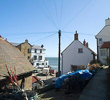Yorkshire fishing village by photoeverywhere
