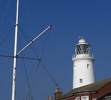 Lighthouse & Mast, Southwold by wiggyofipswich