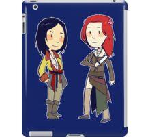 pirate girlfriends iPad Case/Skin