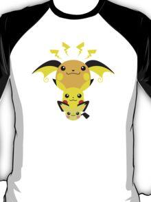 Pokemon - Pikachu's Cute Evolution T-Shirt