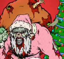 Merry Zombie Christmas Sticker