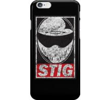 The Stig (aged) iPhone Case/Skin