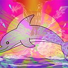 Dolphin Magic by janewiebenga