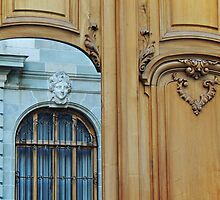 A Door, a Window and a Smiling Lady by Alexandra Lavizzari