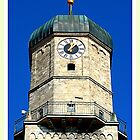 Stadtpfarrkirche Weilheim ~ Clocktower by ©The Creative  Minds