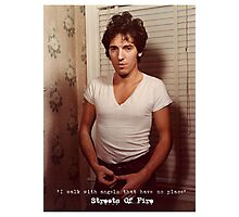 Streets Of Fire Photographic Print