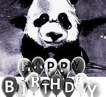 Happy Birthday Panda by linwatchorn