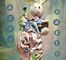 happy easter from easter bunny by vigor