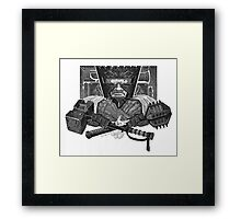King Claudius The Unforgiving Framed Print