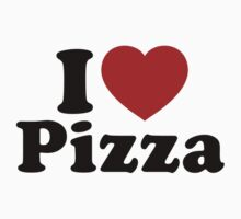 I Love Pizza by BrightDesign