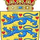 Coat of Arms of Denmark by abbeyz71