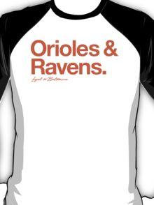 Loyal to Baltimore (Orange Print) T-Shirt