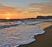 Porthcawl Sunset by Paula J James