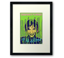 IT IS SLIME Framed Print