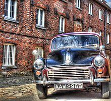 Call The Midwife Street Film Set Morris Minor Car by paulmuscat