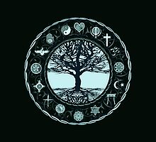 World Religions Unity Tree of Life by treeoflifeshop
