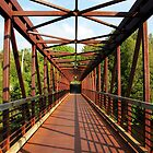 Angles And Lines Bridge by Debbie Oppermann