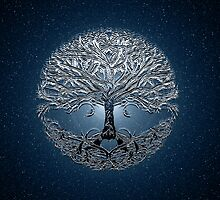 Tree of Life Nova Blue by Amelia Carrie by treeoflifeshop