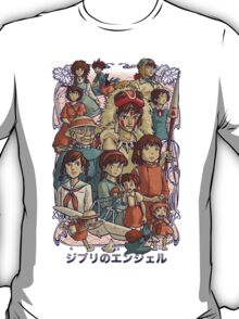 Ghibli's Angels T-Shirt
