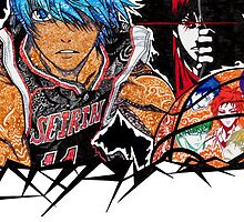 kuroko no basket doodle by Perky Penguin Designs