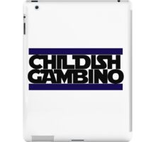 Childish Gambino Logo iPad Case/Skin