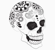 Tumblr Graphic Design Skull by mickykk123