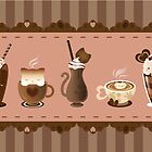 Cute Cat Cafe by Julia Blattman