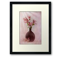 Study In Pink Framed Print