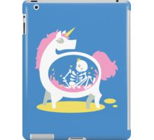 The Truth About Unicorns [Blue] iPad Case/Skin