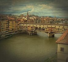 Bridge Ponte Vecchio in Florence, Italy by elgreko