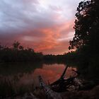 Murray River Sunset 2 by Joel Bramley