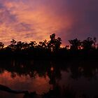 River Sunrise Panoramic by Joel Bramley