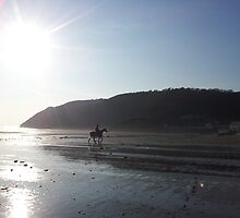 Sunday afternoon in Pendine by Hywel Edwards
