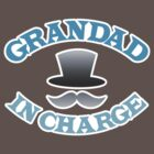 GRANDAD in charge with top hat and mustache by jazzydevil