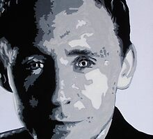 Tom Hiddleston Portrait by Dexter Lewis