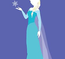 Elsa from Frozen Disney by awiec