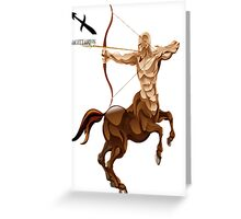 SAGITTARIUS 3D Greeting Card