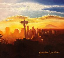Seattle Sunrise by michelina8687