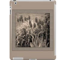 old timey tulips (square) iPad Case/Skin