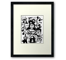 The Strawhats Framed Print