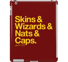 Loyal to D.C. (Goldenrod Print) iPad Case/Skin