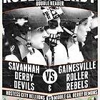 Savannah Derby Devils vs. Gainesville Roller Rebels by five5six