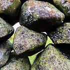 Slemish stone wall by NiallMcC
