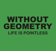 Without Geometry Life Is Pointless by BrightDesign