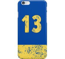 Vault 13 - Classic Blue iPhone Case/Skin