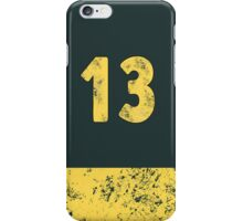 Vault 13 - Vintage Blue iPhone Case/Skin