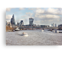 London Blackfriars Bridge Canvas Print